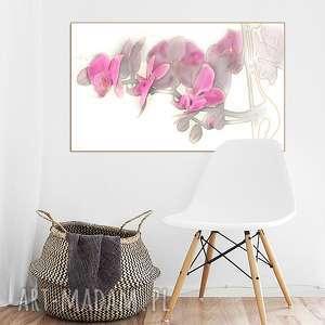 Orchidea akwarela, obraz, orchidea, storczyk, nowoczesny, autorski