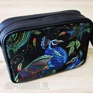 na ramię single bag - pawie, elegancka, wieczorowa, prezent, święta