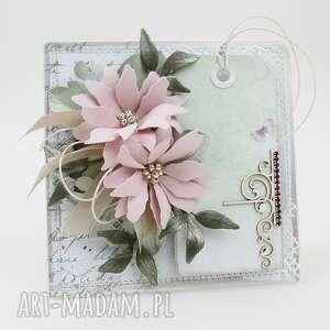 scrapbooking kartki z życzeniami - w pudełku, rocznica, urodziny, ślub