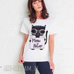 MEOW OR NEVER Oversize T-shirt, oversize