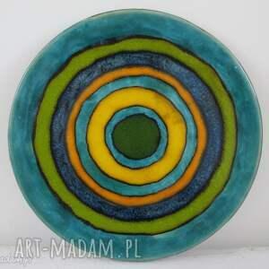 ceramika energetyczna patera ceramiczna, dekoracyjny, talerz, ceramiczny, kolorowy