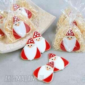 handmade święta prezent magnes mikołaj
