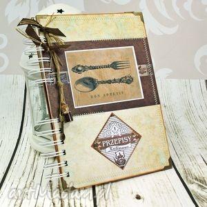 przepiśnik - kuchnia babci, przepiśnik, kulinarny, notatnik, książka, kucharska