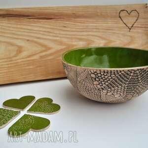 Misa ceramiczna patchwork ceramika tyka ceramika, misa, miseczka