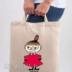 licencjonowana torba muminki mała mi, do ręki, dla niej, reklamówka, prezent