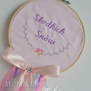 Łapacz snów Różowe Sny Dream Catcher, łapacz, snów, dziecko, dreamcatcher