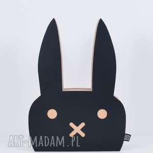 hand made pokoik dziecka królik ecoono | czarny