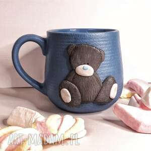 "Kubek ""miś"" ceramika kubekzuzi nataliap kubek, kawa herbata"