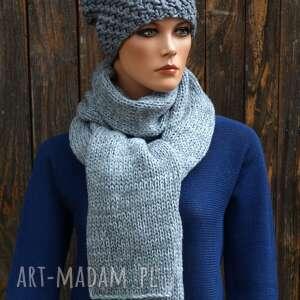 czapka handmade nr 22, zimowa, wełniana czapka, ciepła