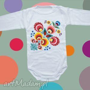ubranka body niemowlęce folk, body, ubranka, dziecko, prezent, bluzka