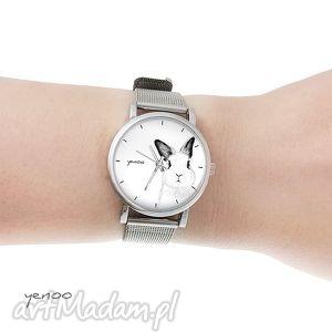 ręcznie robione zegarki zegarek, bransoletka - królik mały