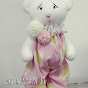 miś w różowym ubranku, miś, komunia, prezent, narodziny, przytulanka, urodziny