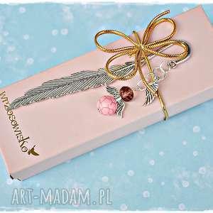 aniołek stróż - uraocza zakładka na prezent, zakładka, anioł, anioł