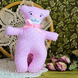 kochany mały miś - zuzia - 18 cm - zabawka, bezpieczna chrzest roczek dziewczynka