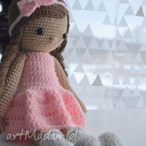 lala alicja różowa, lala, lalka, zabawki, urodziny, roczek, prezent dla dziecka