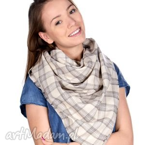 chusta damska - ciepła, apaszka, zimowy, szal