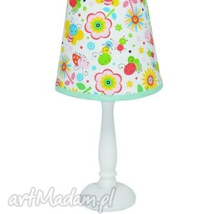 lampka kolorowa Łączka - lampka, nocna, stojąca, kolorowa, popielewska, stye