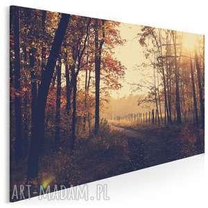 fotoobraz na płótnie - krajobraz park sepia 120x80 cm 904301
