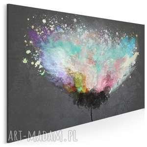 obraz na płótnie - artystyczne drzewo 150x100 cm (54001/150x100)