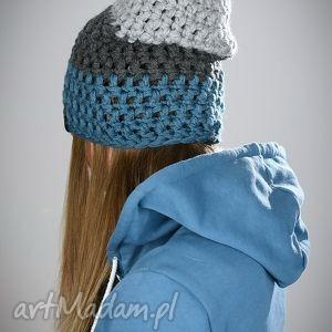 triquence 18 - czapka, czapa, kolorowa, zimowa, wełna, zima
