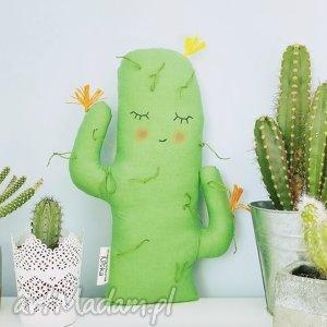 kaktus dekoracyjny - kaktus, rośliny, sukulenty, kaktusik, poduszka, dekoracja