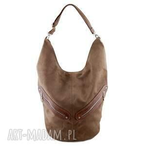 kofi - duża torba worek brązowa, worek, pojemna, duża, wyjątkowa, prezent