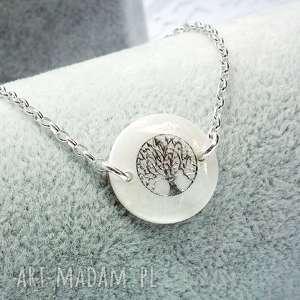 srebrna bransoletka drzewo życia, srebrna, drzewo, srebro, elegancka