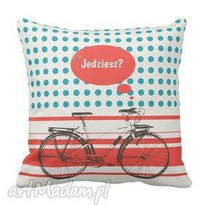 poduszki poduszka dekoracyjna jedziesz retro rower pod-6491
