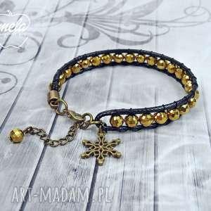 0703/mela bransoletka wrap bracelet pojedyncza, bransoletka, bracelet