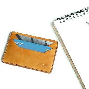 wildleather męski portfel skórzany minimalistyczny na karty ręcznie szyty