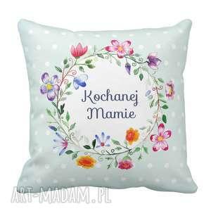 handmade poduszki poduszka dzień matki - kwiaty dla kochanej mamy 6497