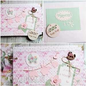 Notes / Pamiętnik Ciążowy, ciąża, maluszek, dziewczynka, mama, narodziny, róż