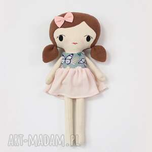 lalki lalka przytulanka zoya, 45 cm, rękodzieło, szmaciana