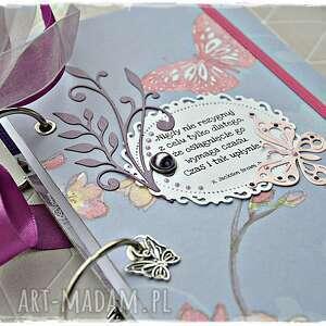 niekończący się notatnik/pamiętnik, notatnik, pamiętnik, motyle, prezent