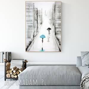 grafika 70 x 100 cm wykonana ręcznie, plakat, abstrakcja, elegancki minimalizm, obraz