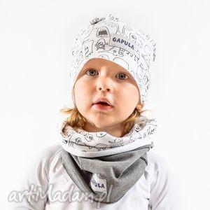 Komin duszki-szary gapula bawełna, wygoda, ciepło, duchy,