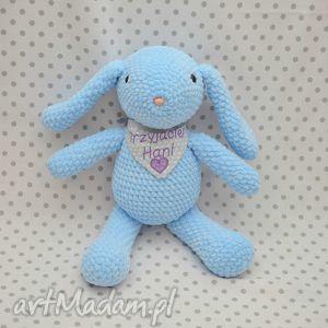Szydełkowy króliczek błękitek maskotki akukuuu maskotka, królik,