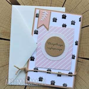 Prezent Kartka - pocztówka, urodzinowa, imieninowa, urodziny, okolicznościowa