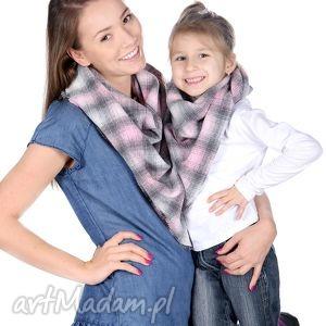 komplet chusta mama i córka - prezent, apaszka, corka