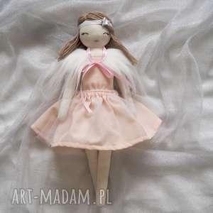 Lalka #205, szmacianka, przytulanka, eko-lalka