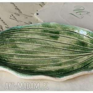 podstawek listek, ceramika, liść, dom