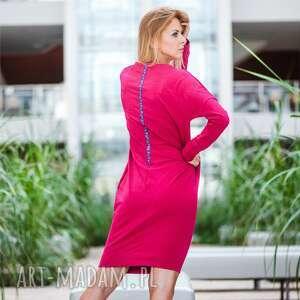 handmade sukienki overlong | sukienka dresowa