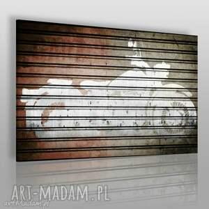 obraz na płótnie - motocykl 120x80 cm 26401 , motor, motocykl, pojazd, hobby