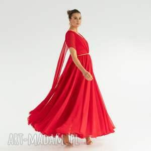 wyjątkowy prezent, sukienka 26/ss/2021, zwiewna, rozkloszowana, obfita