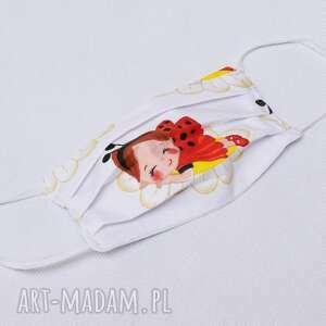 maseczka maska dwuwarstwowa kosmetyczna bawełniana streetwear