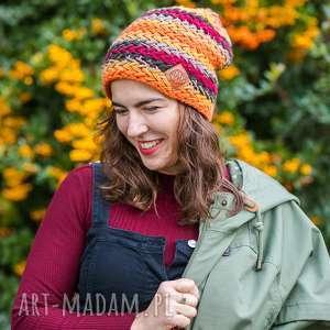 Explorer jesień czapki brain inside czapka, jesienna, kolorowa