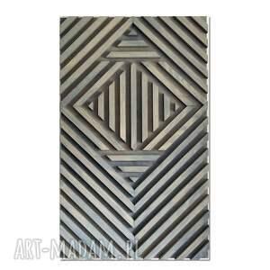 obraz z drewna, dekoracja ścienna /41- zorro/, obraz, drewniany