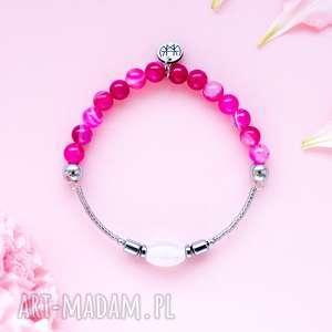 WHW High - Raspberry Jelly, dwustronna, agat, kamienna, kolorowa, hematyt, elastyczna