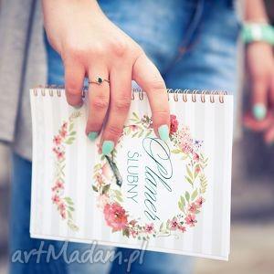 zaproszenia planer ślubny, notes notatnik panny młodej