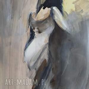 świąteczny prezent, kobieta 100x70, obraz do salonu, duże obrazy